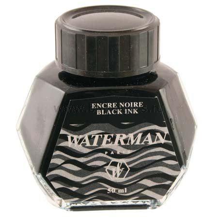 Черные чернила Waterman S0110710