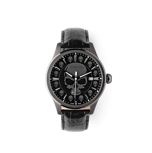 IDFOWASG Мужские часы Montegrappa (Монтеграппа), FORTUNA SKULL