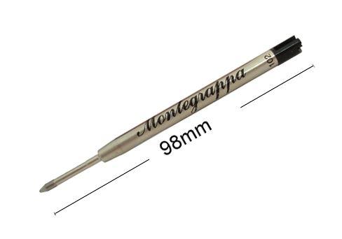 IA00BMTC Шариковый стержень для ручки Montegrappa Ballpoint Pen Refill. Черный.