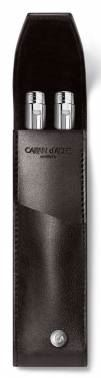 6201.059 Чехол (футляр) для 2-х ручек Caran d'Ache (Карандаш) Haute Maroquinerie Ebony