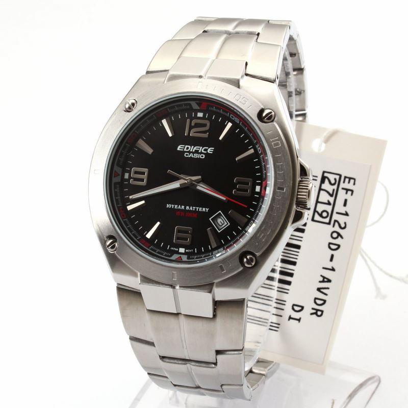 Мужские японские наручные часы Casio Edifice EF-126D-1A