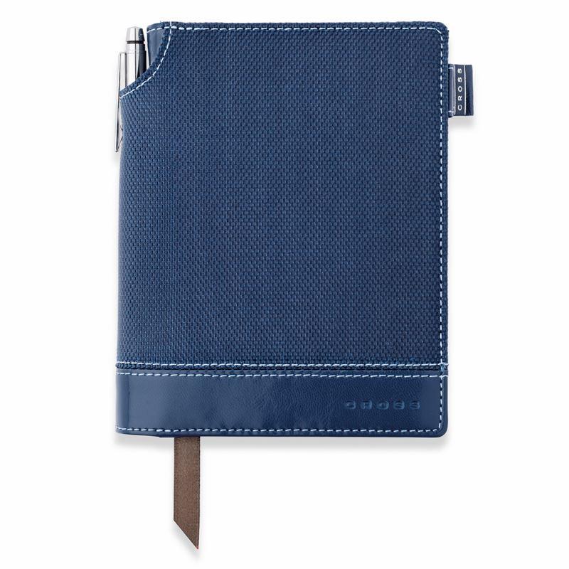 Записная книжка Cross Textured Journal, A6, синяя, текстурированная,  c ручкой 3/4, 250 страниц в линейку, SS2012