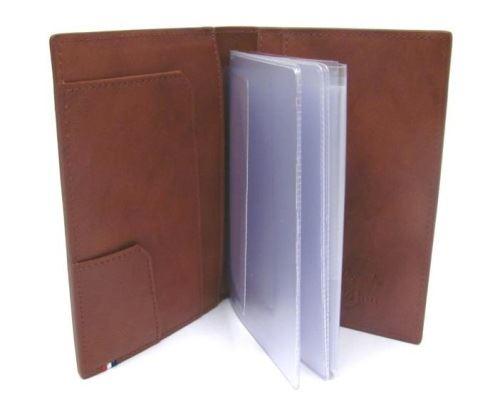 180138RU Обложка для автодокументов S.T.Dupont Elysee коричневая