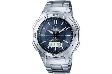 Японские аналого-цифровые многофункциональные часы Casio WVA-470TDE-2A