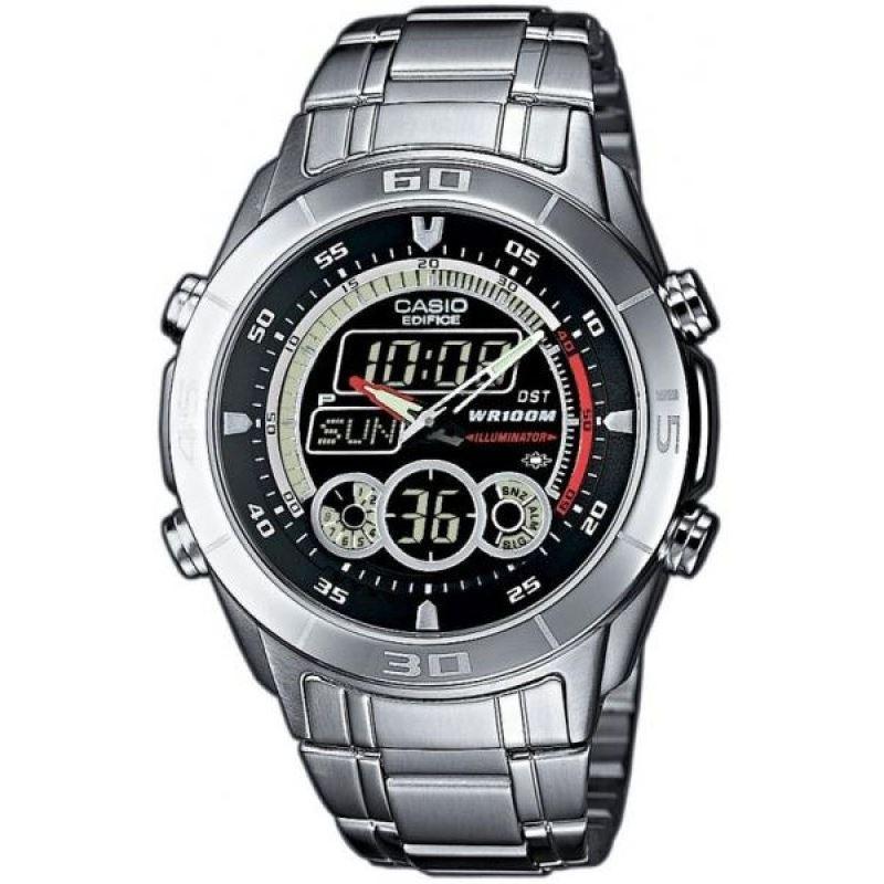 Мужские японские наручные часы Casio Edifice EFA-115D-1A1
