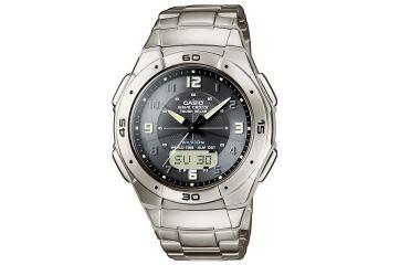 Японские аналого-цифровые многофункциональные часы Casio WVA-470TDE-1A