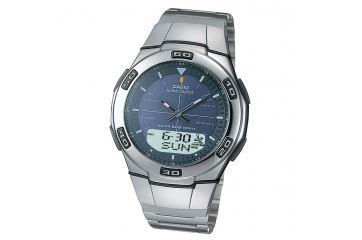 Японские аналого-цифровые многофункциональные часы Casio WVA-105HDE-2A