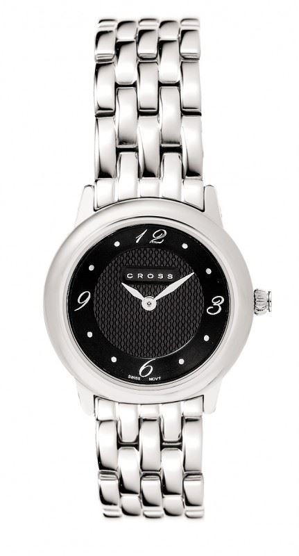 Часы Cross Chicago женские, браслет: нержавеющая сталь, корпус: нержавеющая сталь