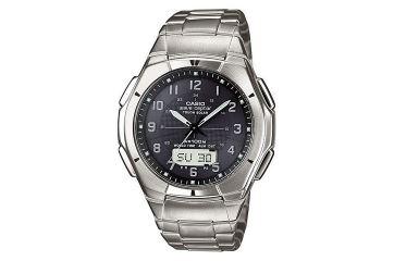 Японские аналого-цифровые многофункциональные часы Casio WVA-620TDE-1A