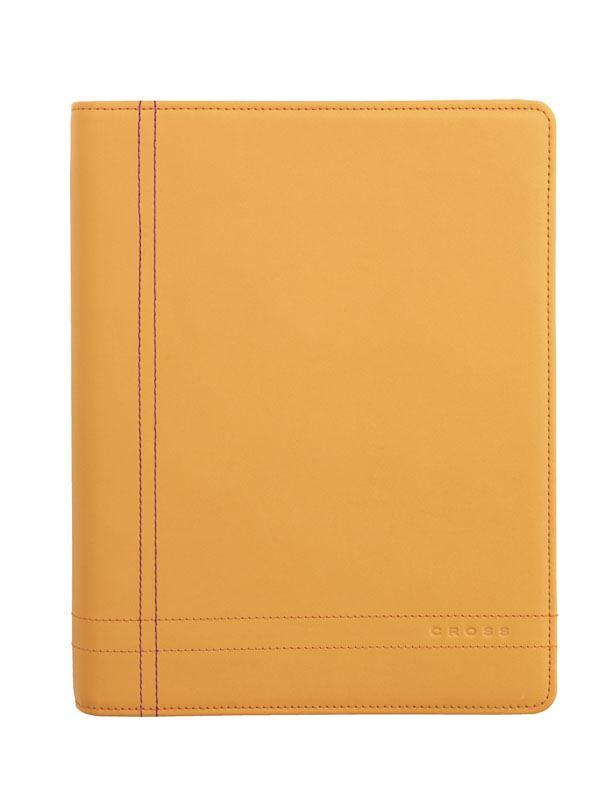 Кожаный органайзер Cross Legacy Medium (Ручка и блок еженедельник в комплекте), тип кожи: гладко-текстурированная, цвет: песочный; 19х24см >