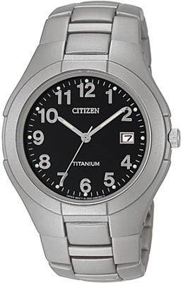 Мужские кварцевые наручные японские часы Citizen  BK1530-55F