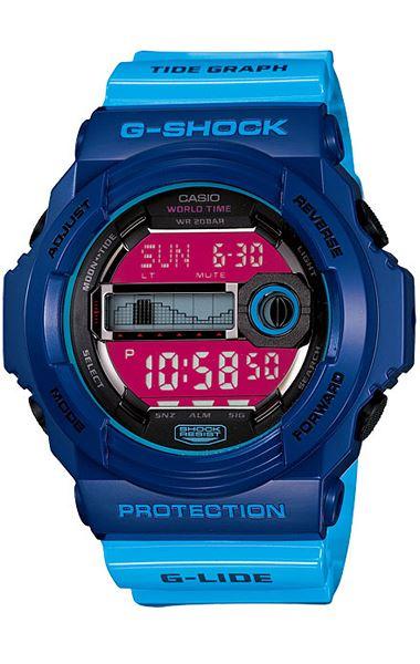 Японские наручные часы Casio G-Shock GLX-150-2E