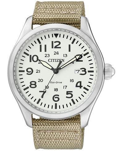 Мужские кварцевые наручные японские часы Citizen  BM6831-24B