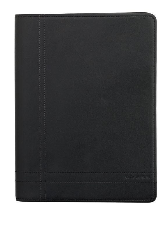 Кожаная папка Cross Legacy Leather Junior (Ручка и блокнот в комплекте), тип кожи: гладко-текстурированная, цвет: черный; 18*24cm >