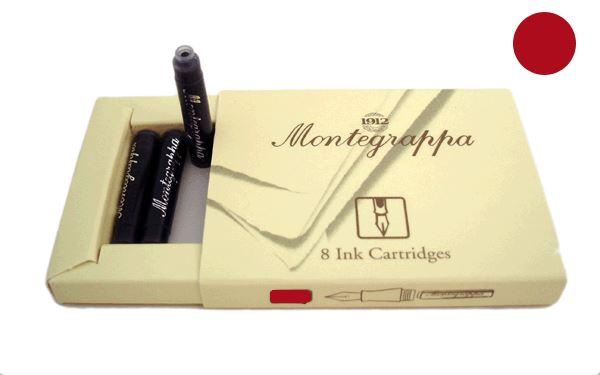 IA00C0ED Картриджи Montegrappa для перьевых ручек. Бордовый.