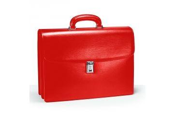 Портфель с 2 отделениями Aurora Torino, красный