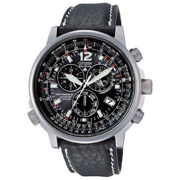 Мужские кварцевые наручные японские часы Citizen  AS4050-01E