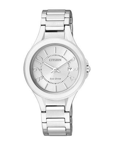 Мужские кварцевые наручные японские часы Citizen  FE1020-53B