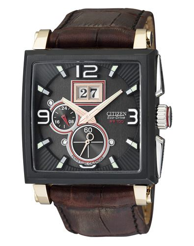 Мужские кварцевые наручные японские часы Citizen  BT0078-00E