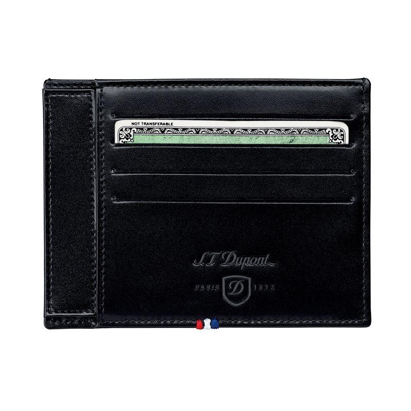 180011 Футляр для документов S.T.Dupont / 4 кредитные карты ELYSEE Black