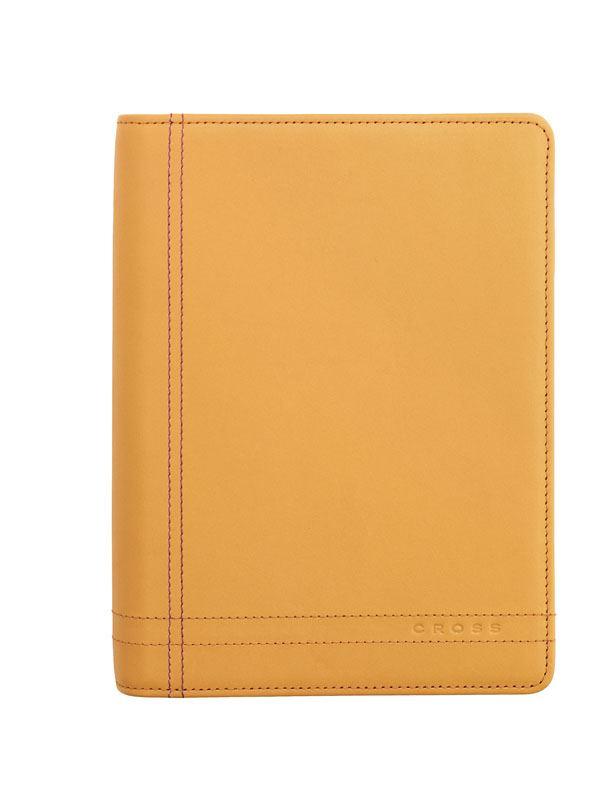 Кожаный органайзер Cross Legacy Personal (Ручка и блок еженедельник в комплекте), тип кожи: гладко-текстурированная, цвет: песочный >