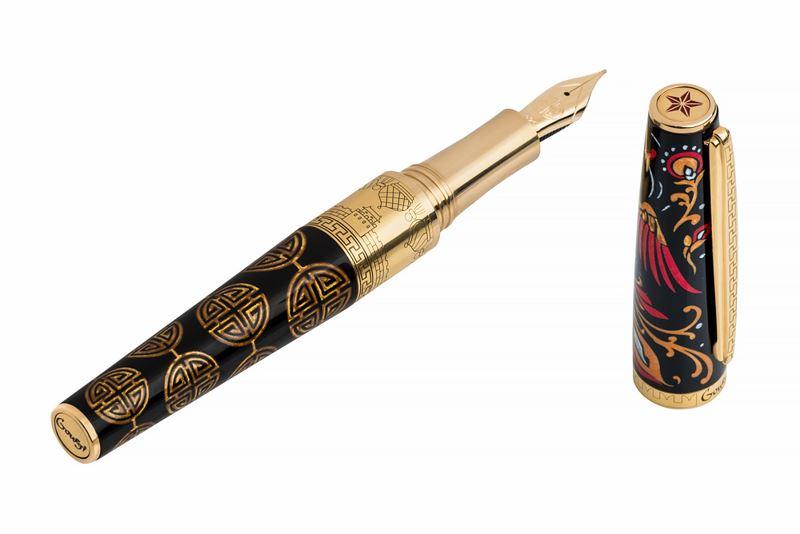 IFGOR2CI Перьевая ручка Gourji (Гуржий) -
