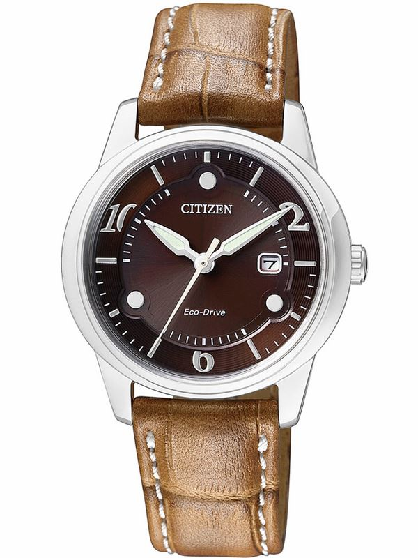 Мужские кварцевые наручные японские часы Citizen  EW1750-01W