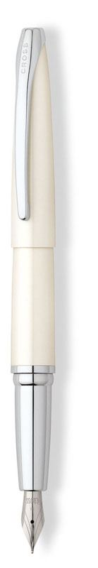 Перьевая ручка Cross ATX, цвет: Pearlescent White,  перо: F (AW11)