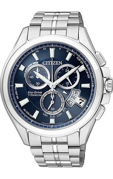 Мужские кварцевые наручные японские часы Citizen  BY0050-58L