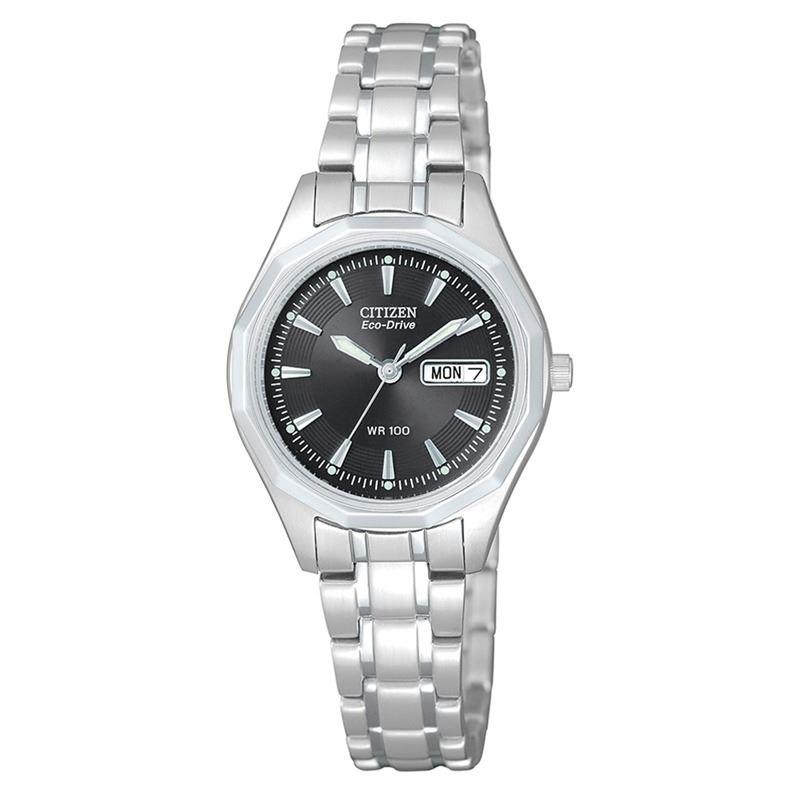 Мужские кварцевые наручные японские часы Citizen  EW3140-51EE