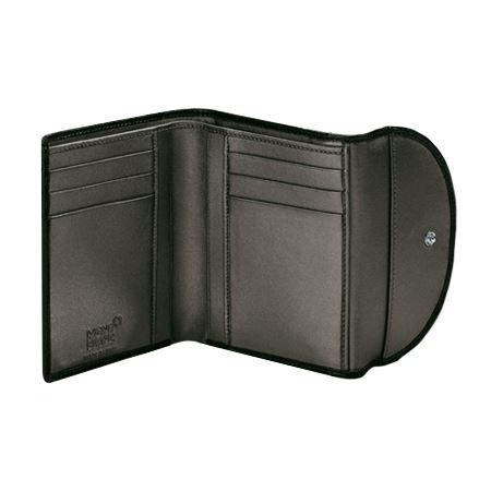 106782 Montblanc Бумажник Boh Wallet черный/жемч.