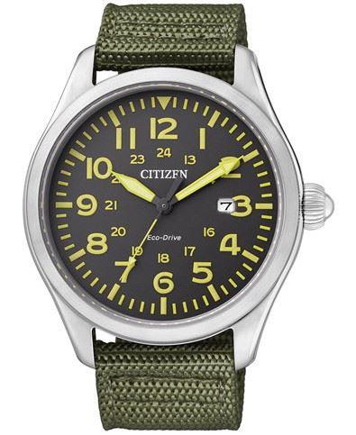 Мужские кварцевые наручные японские часы Citizen  BM6831-16E