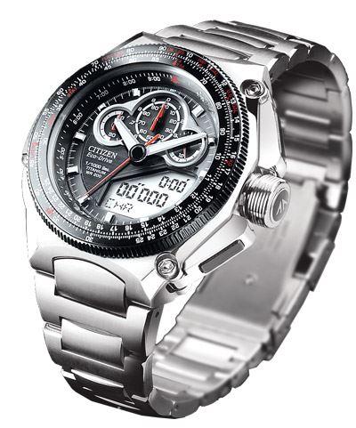 Мужские кварцевые наручные японские часы Citizen  JW0071-58E