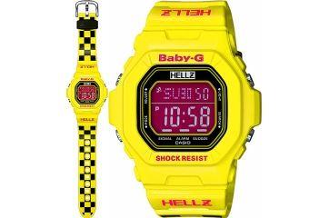 Женские японские наручные часы Casio Baby-G BG-5600HZ-9E