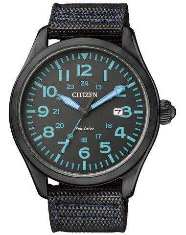 Мужские кварцевые наручные японские часы Citizen  BM6835-07E
