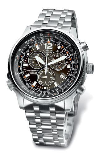 Мужские кварцевые наручные японские часы Citizen  AS4020-52E