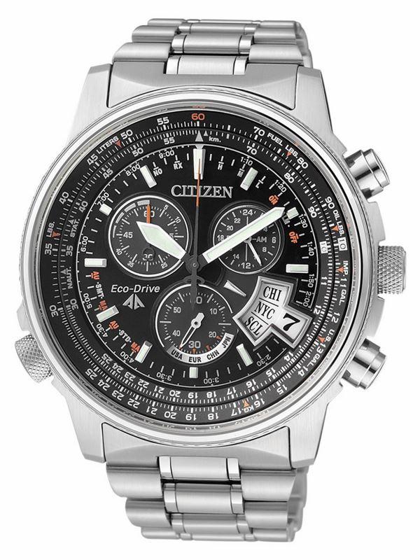 Мужские кварцевые наручные японские часы Citizen BY0085-53E