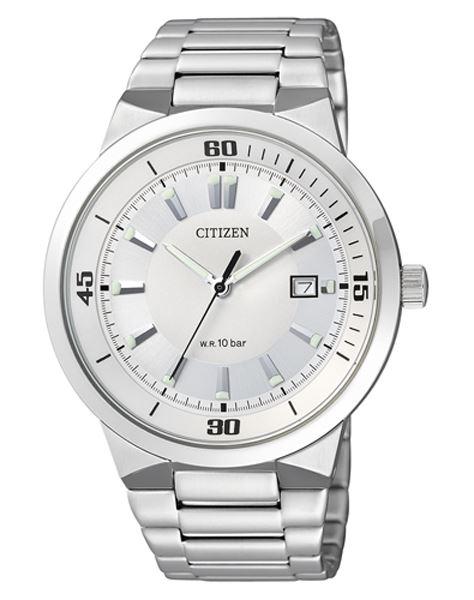 Мужские кварцевые наручные японские часы Citizen  BK2490-52A