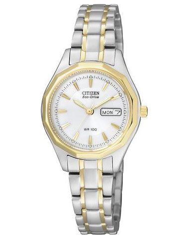 Мужские кварцевые наручные японские часы Citizen  EW3144-51AE