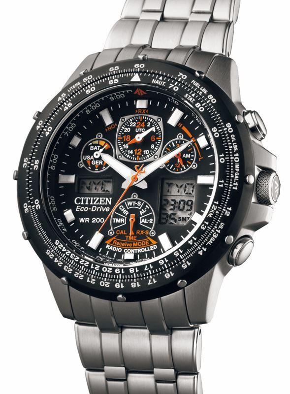 Мужские кварцевые наручные японские часы Citizen  JY0020-64E