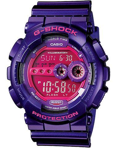 Японские наручные часы Casio G-Shock GD-100SC-6E