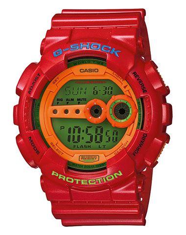 Японские наручные часы Casio G-Shock GD-100HC-4E