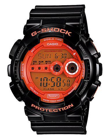 Японские наручные часы Casio G-Shock GD-100HC-1E