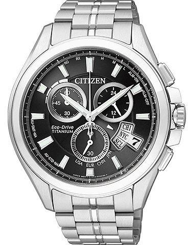 Мужские кварцевые наручные японские часы Citizen  BY0050-58E