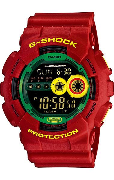 Японские наручные часы Casio G-Shock GD-100RF-4E