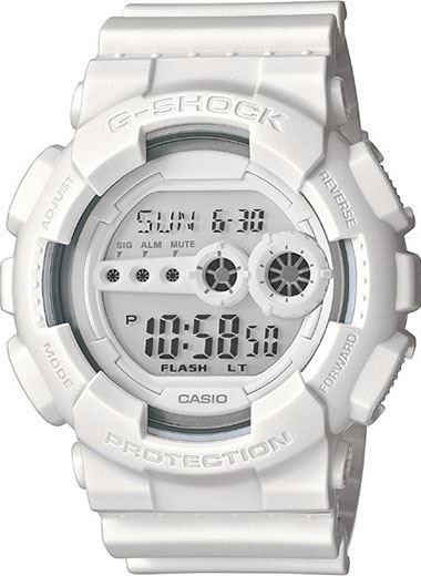 Японские наручные часы Casio G-Shock GD-100WW-7E