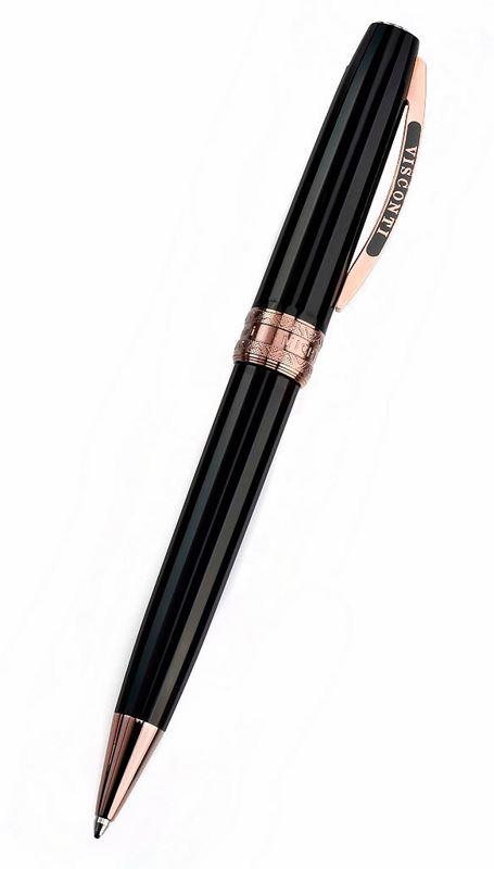 Шариковая ручка Visconti Michelangelo черная смола