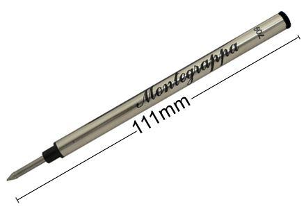 IA00RLTC Стержень-роллер для ручки Montegrappa (Монтеграппа) Standard Rollerball Refill. Черный.