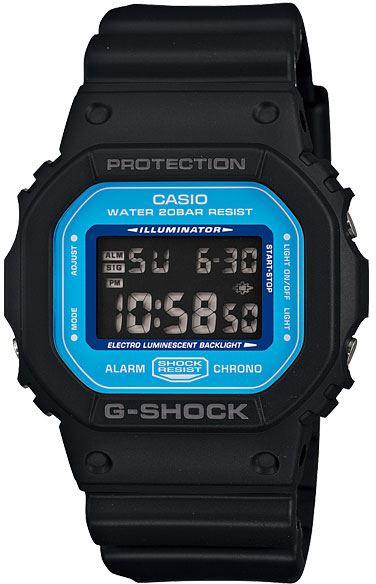 Японские наручные часы Casio G-Shock DW-5600SN-1E