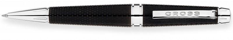Шариковая ручка / роллер Cross C-Series, цвет: перфорированный Metallic Carbone Black
